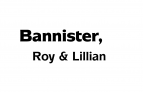 Bannister, Roy & Lillian